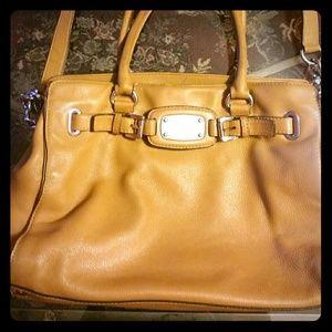 Handbags - LARGE LEATHER MICHAEL KOR HAND BAG